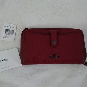 Coach Phone Wristlet - NEW